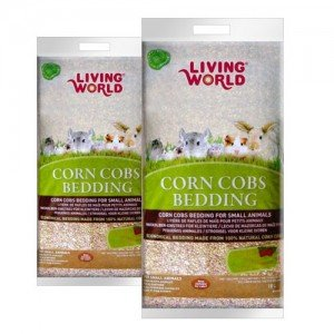 Living World. Corn Cobs Fresa lecho higienico