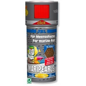 JBL MARIPEARLS CLICK 250 ML. GRANULOS PARA PECES MARINOS