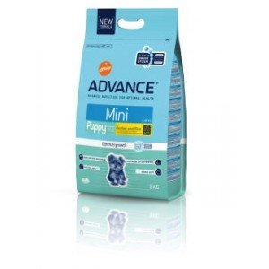 ADVANCE MINI puppy pollo y arroz 3kg pienso cachorro