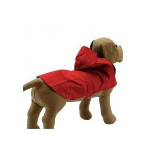 Impermeable con capucha para perros