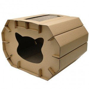 Rascador Cozy CAT LOVE para gatos