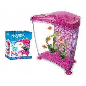 Marina Cool Rosa Goldfish Kit 10Litros